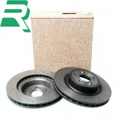 Renault OE Drilled Brake Discs -Front- RenaultSport Clio 197/200