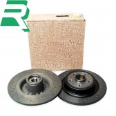 Renault OE Drilled Brake Discs -Rear- RenaultSport Clio 197/200