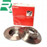 Brembo Brake Discs -Rear- Honda Civic EP3 Type R