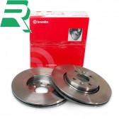 Brembo High Carbon (HC) Brake Discs UV Coated -Front- RenaultSport Clio 172/182