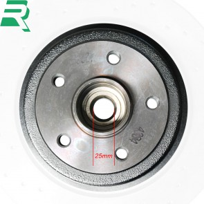 Renault Brake Discs C/W Bearings and ABS Rings - Rear - RenaultSport Megane 225