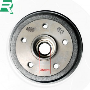 Renault OE Grooved Brake Discs CW Bearings and ABS rings -Rear- RenaultSport Megane 230 R26R