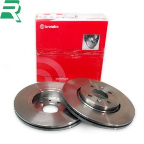 Brembo High Carbon (HC) Brake Discs UV Coated -Front- RenaultSport Twingo 133