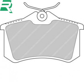 Ferodo Racing DS2500 Brake Pads -Rear- RenaultSport Twingo 133