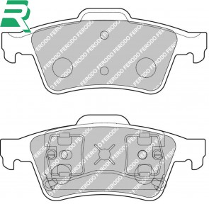 Ferodo Racing DS2500 Brake Pads -Rear- RenaultSport Megane 225