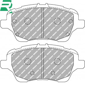 Ferodo Racing DS2500 pads Brake Pads -Front- Ford Fiesta ST180