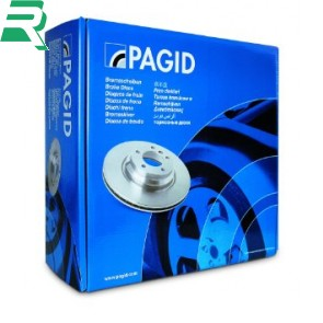Pagid High Carbon (HC) Drilled Brake Discs Coated -Rear- Audi B7 RS4