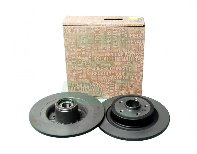 RENAULT MEGANE MK2 FRONT AND REAR BRAKE DISCS PADS WITH ABS BEARING OE QUALITY