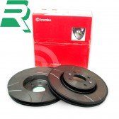 Brembo Max Grooved High Carbon (HC) Brake Discs -Front- RenaultSport Clio 172/182