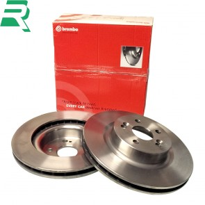 Brembo High Carbon (HC) Brake Discs -Front- RenaultSport Clio 197/200
