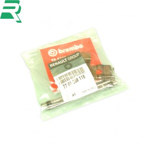 Brembo/Renault OEM front caliper pin kit -Front- Renaultsport Clio 197/200