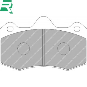 Ferodo Racing DS3000 Brake Pads - Front - RenaultSport Clio V6